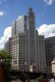 The Wrigley Building by Graham, Anderson, Probst and White