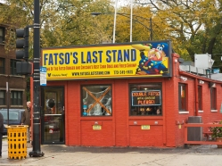 Fatso's Last Stand, not on the architectural tour, but it should be.