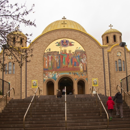 Sts. Volodymyr & Olha Ukrainian Catholic Church In Ukrainian Village
