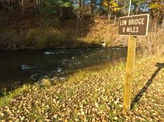 8 miles to Low Bridge