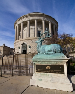The Elks National Memorial. Constructed in the 1920s to memorialize the more than 70,000 members of the Order of the Elks who served in World War I.