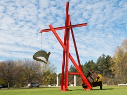 For Mother Teresa, Mark di Suvero (1998)