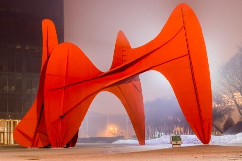 La Grande Vitesse, by Alexander Calder