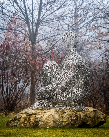 I, you, she or he…, by Jaume Plensa
