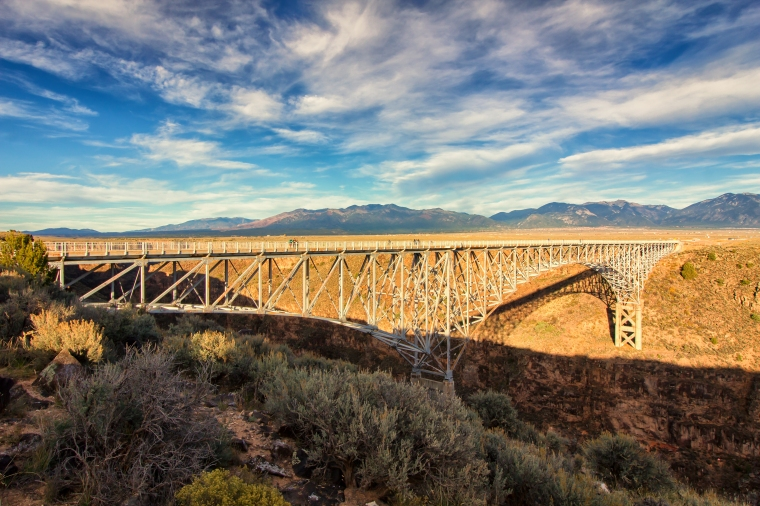 Rio Grande Gorge Bridge-