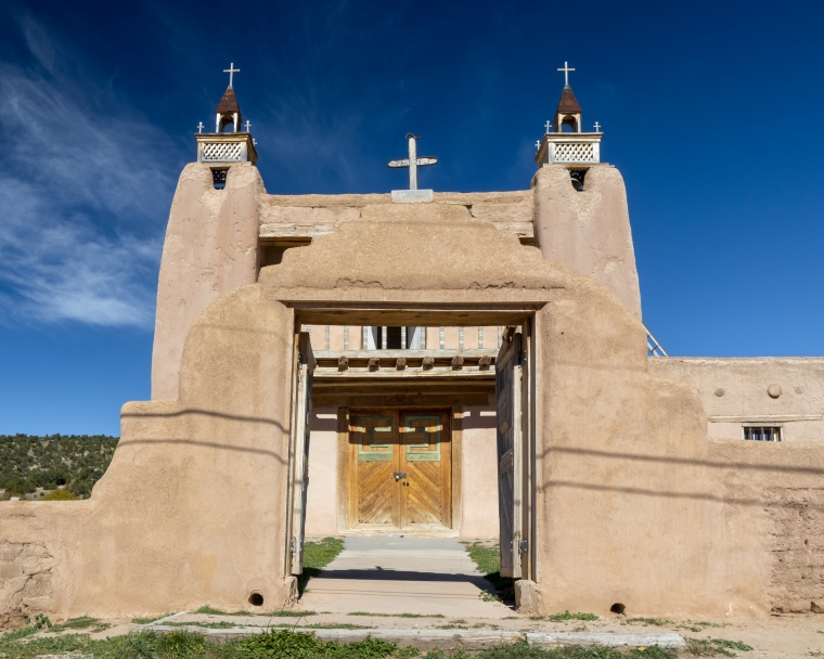 San Jose de Garcia Church - Trampas NM-1829
