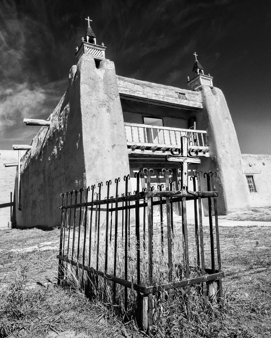 Gravesite, San José de Gracia Church, Las Trampas, New Mexico
