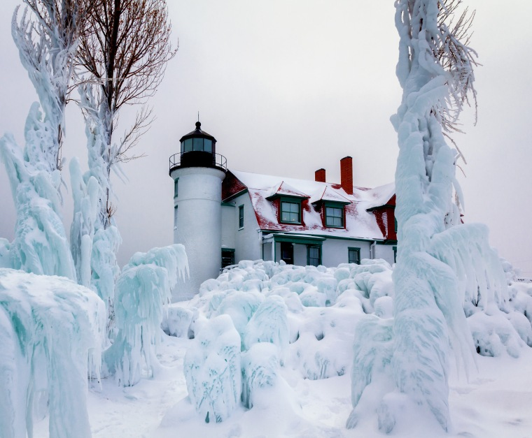 Point Betsie Lighthouse -7844a