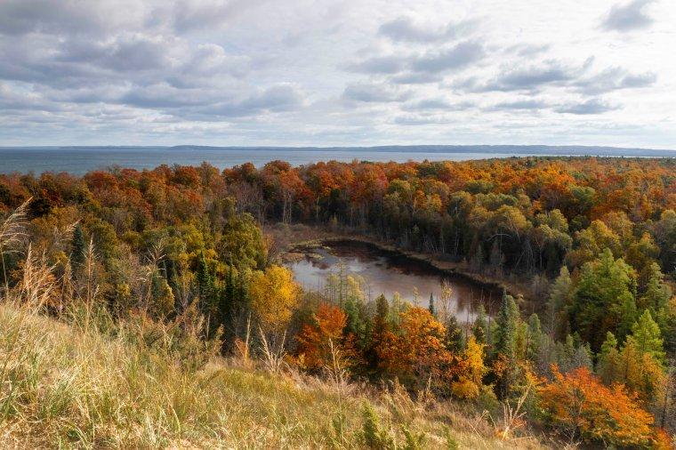 Fall Colors at Pyramid Point 6017