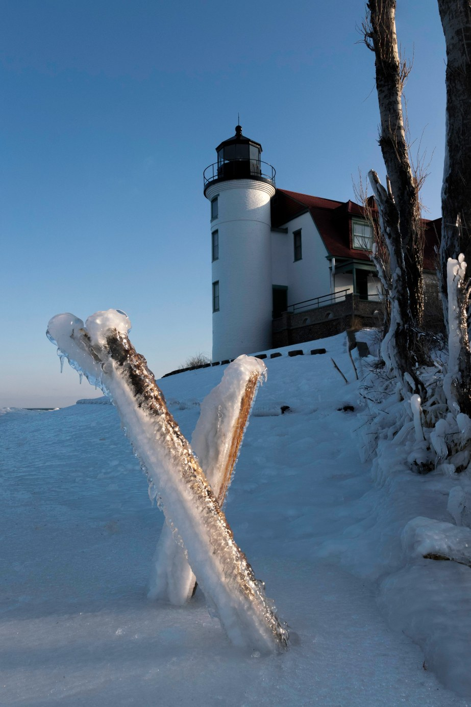 Point Betsie Lighthouse 2-22-2020